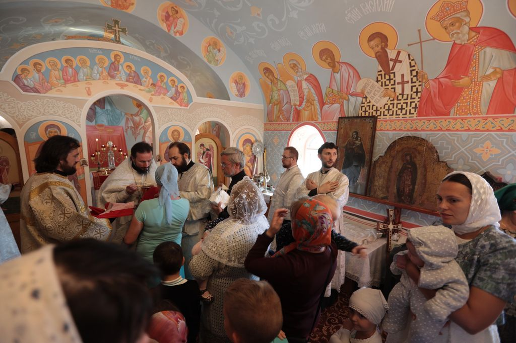 Освящение Владимирского храма