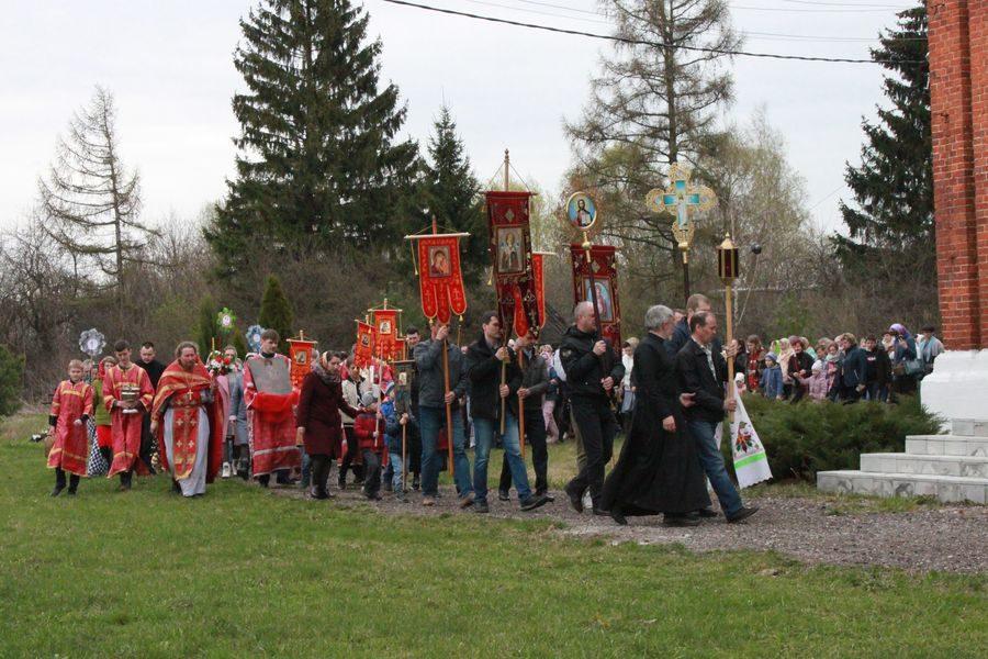 Пасхальный праздник в Рожново
